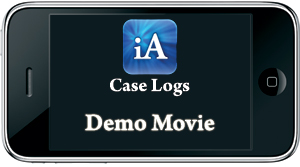 iAnesthesia: Case Logs iPhone Demo Movie