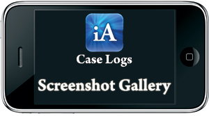 Anesthesia Case Log Tracking iPhone Screenshot Gallery